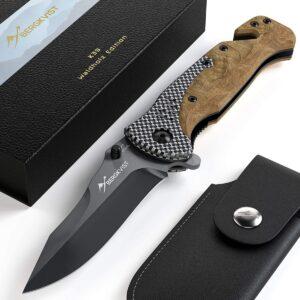 BERGKVIST® 3-ühes klappnuga K39 Tiger Edition 1/3